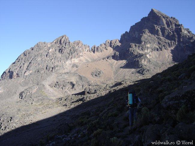2004 - Der Mawenzi von der Mawenzi Tarn Hut (4.300m)