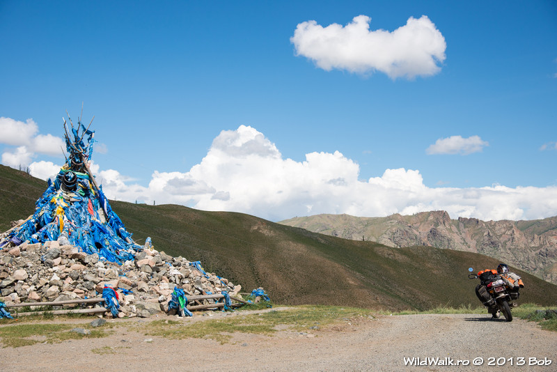 Ovoo, in the North of Mongolia