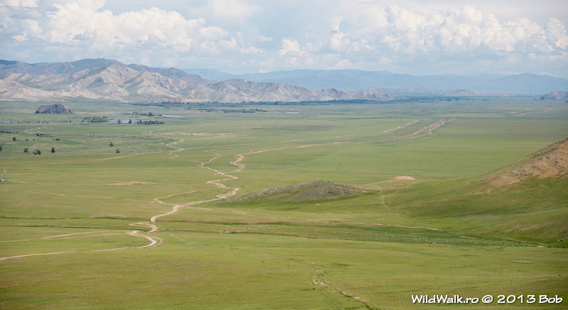 In the North of Mongolia, near Moron