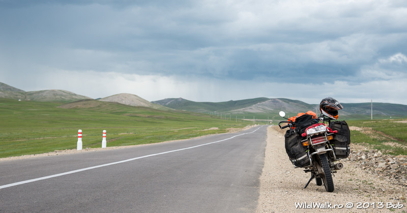 From Moron to Hovsgol, in the North of Mongolia