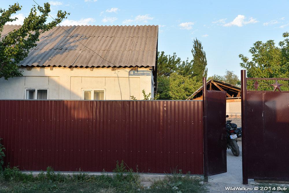 La gazda in satul Toktogul, Kyrgyzstan