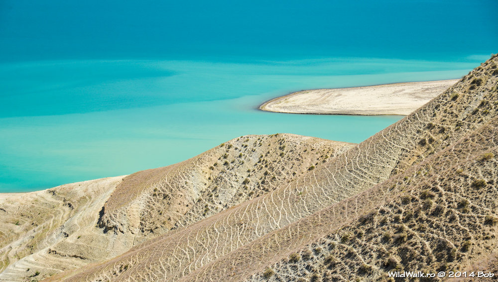 Lacul Toktogul, Kyrgyzstan