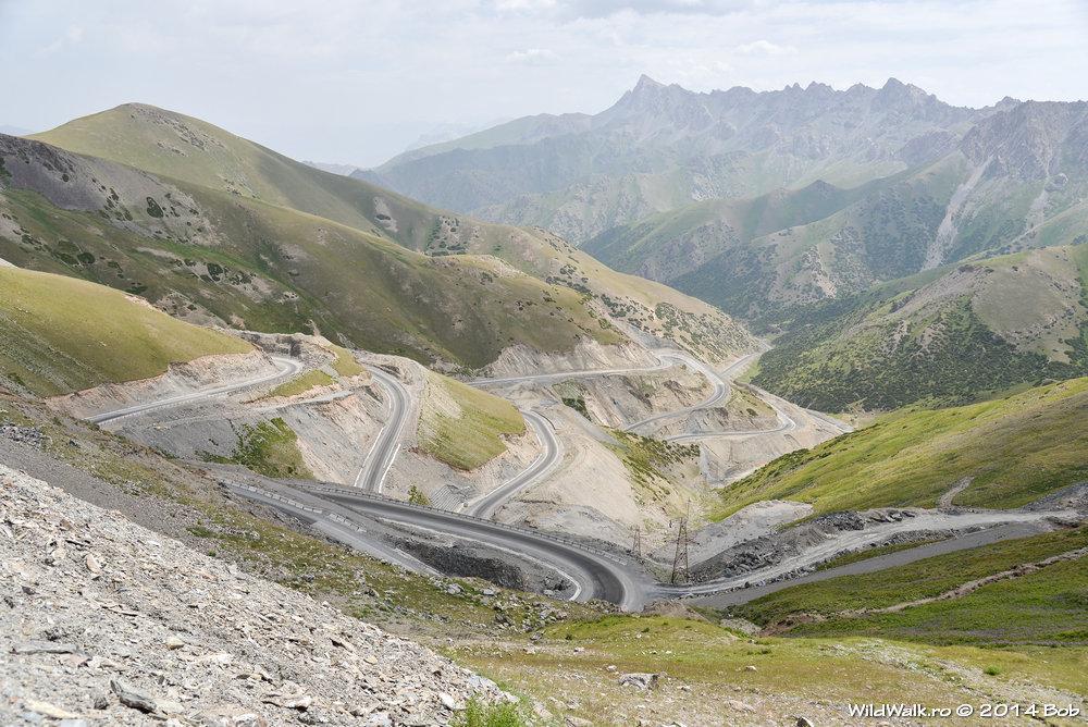 La 3600 m in Pasul Taldyk, Kyrgyzstan