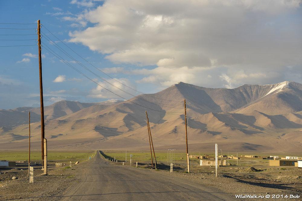 Satul Karakol, 3900 m, Tajikistan