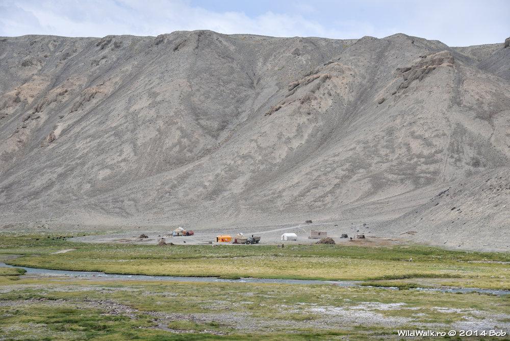 O mica stana, pe valea Bartang, Tajikistan