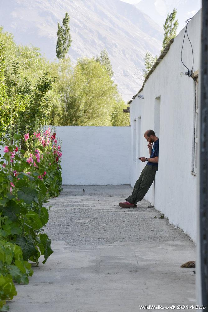 In satul Langar, Tajikistan