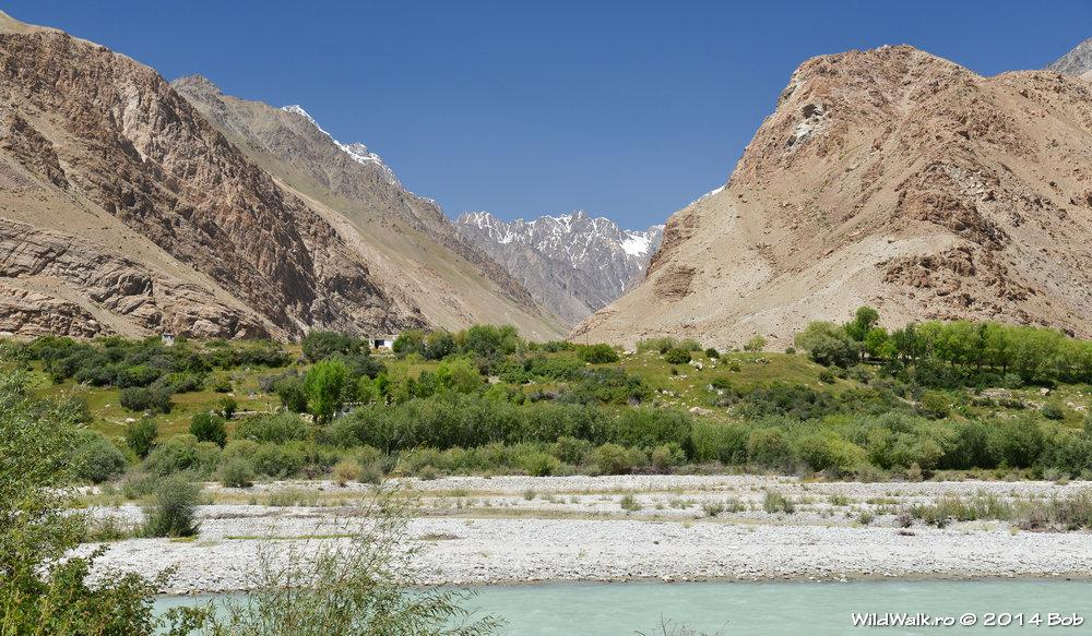 Plecand de la Khorog pe M41, Tajikistan