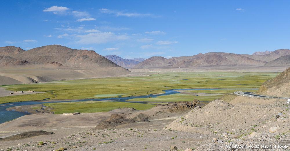Aproape de Murghab, Tajikistan