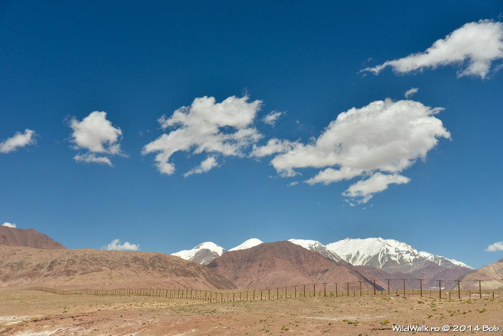 Granita cu China, Tajikistan